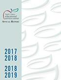 2017-2019 Annual Report Cover art